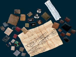 4 amulettes sénégal XX